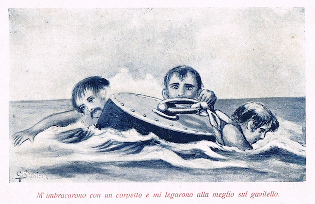 Gavitello regio sommergibile Medusa - www.lavocedelmarinaio.com