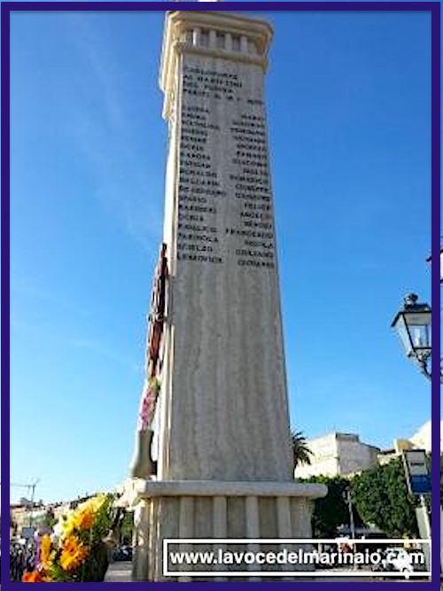 Monumento ai marittimi del Fusina periti il 18.1.1970 - www.lavocedelmarinaio.com