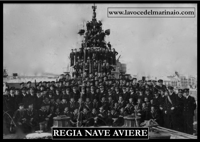 Regia nave Aviere - equipaggio - www.lavocedelmarinaio.com