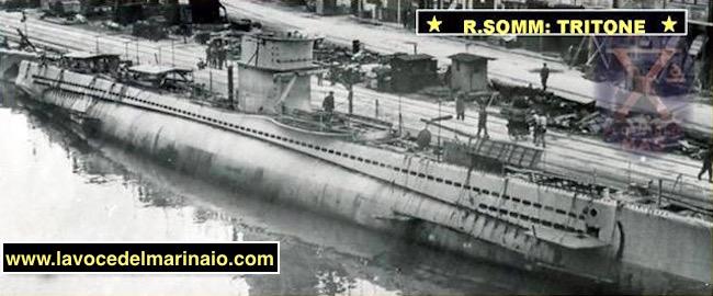 Regio sommergibile Tritone - www.lavocedelmarinaio.com