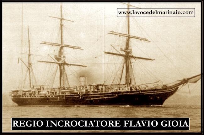 regio incrociatore Falvio Gioia - www.lavocedelmarinaio.com