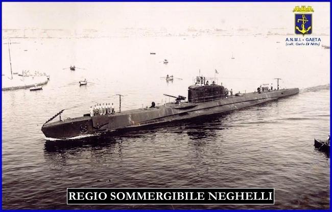 regio sommergibile Neghelli f.p.g.c. Carlo Di Nitto a www.lavocedelmarinaio.com