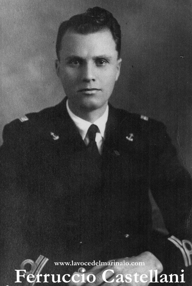 Sottotenente di vascello Ferruccio Castellani - www.lavocedelmarinaio.com