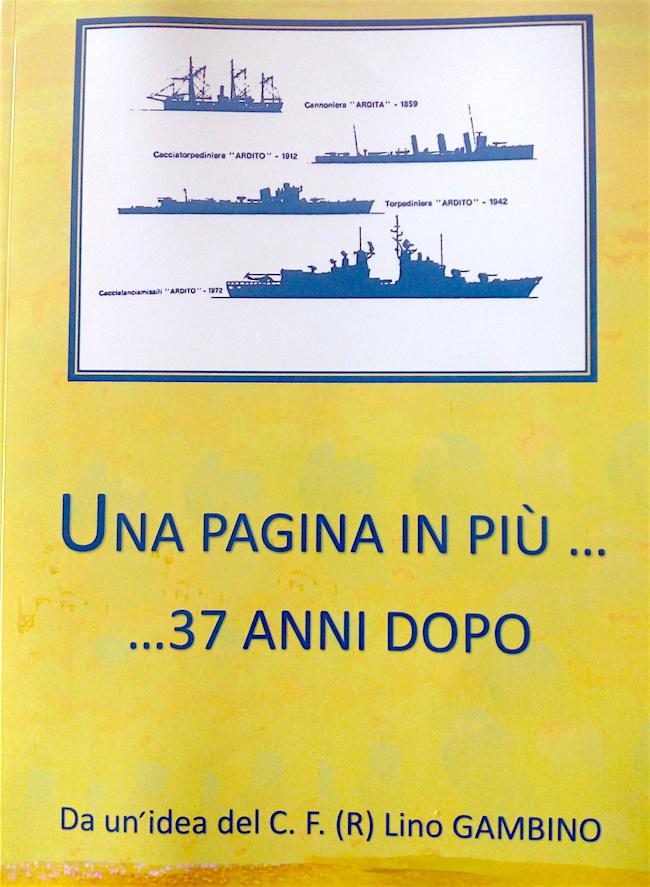 Una pagina in più 37 anni dopo di Lino Gambino - copia copertina - www.lavocedelmarinaio.com