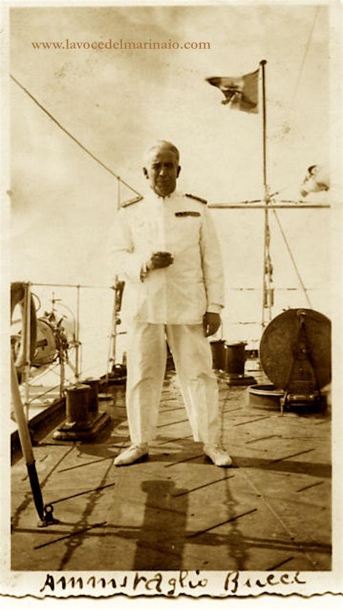 ammiraglio Umberto BUCCI - www.lavocedelmarinaio.com