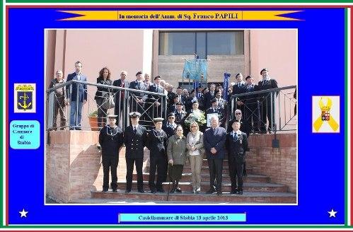 13.4.2013 anmi stabia per celebrazione ammiraglio Papili