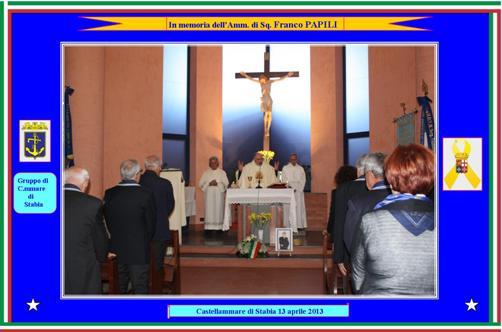 13.4.2013 celebrazioni ammiraglio Franco Papili - www.lavocedelmarinaio.com