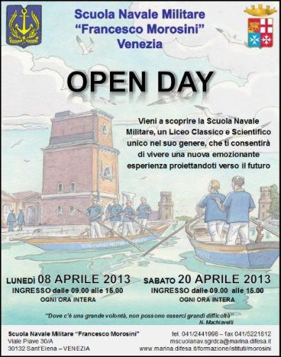 8-20 aprile 2013 Morosini Open day