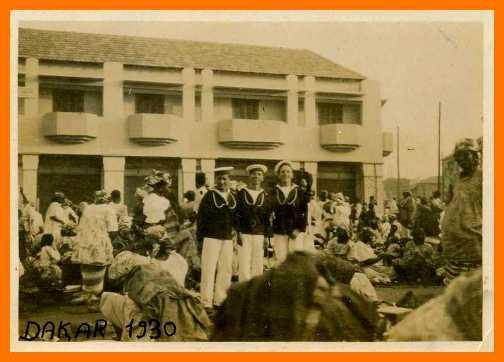 In franchigia a Dakar, 1930 - www.lavocedelmarinaio.com -  Copia