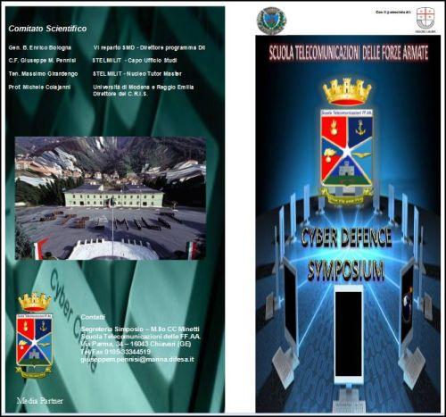 16.5.2013 Cyber Defence Symposium a Stelmilit ChiavariJPG