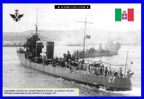 20.5.1941 Regia nave Curtatone - www.lavocedelmarinao.com