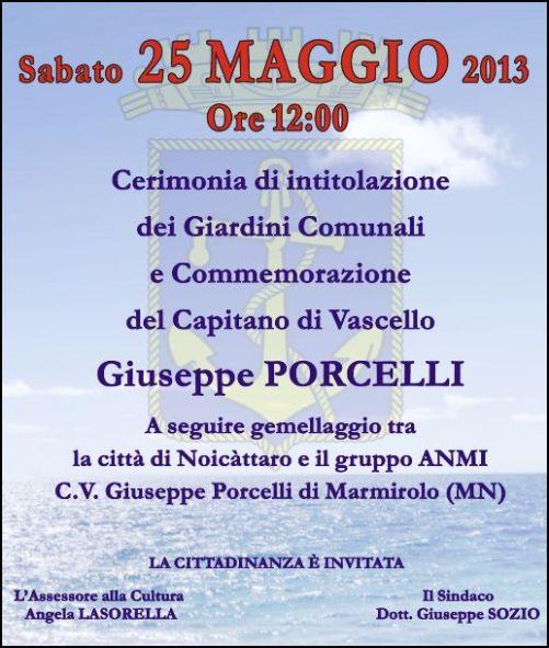 25.5.2013 Noicattaro per il C.V. Giuseppe PORCELLI - www.lavocedelmarinaio.com
