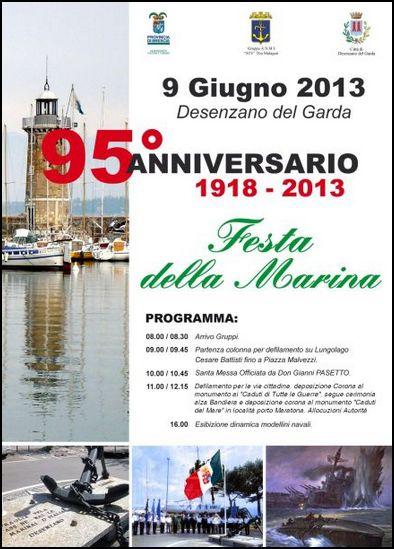 9-6-2013 Desenzano del Garda - Festa della Marina - www.lavocedelmarinaio.com