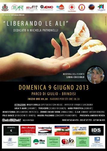 9.6.2013 Brindisi - Liberando le ali