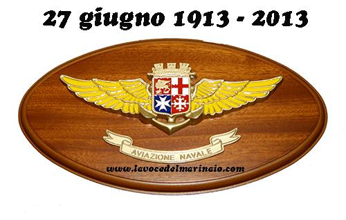 Centenario aviazione navale - crest - ww.lavocedelmarinaio.com
