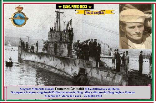 29.7.1943 Sergente Francesco Grimaldi - smg Micca  - Copia