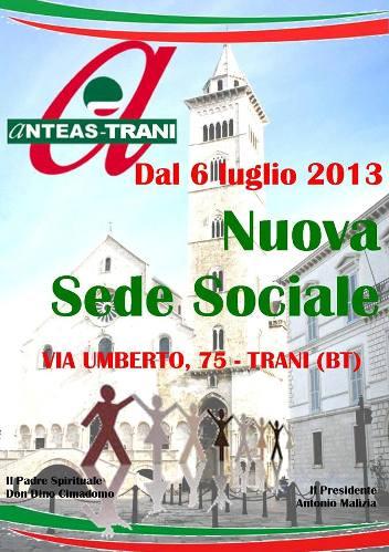 6 luglio 2013 Anteas Trani