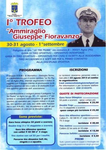 1°trofeo Ammiraglio Fioravanzo 30 agosto - 1 settembre