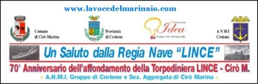 24-25.8.2013 nave Lince - www.lavocedelmarinaio.com