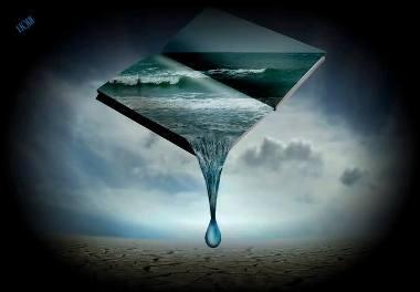 Dio ci cambia l'acqua tutti i giorni