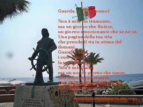 Guarda Nave Grecale a Finale Ligure - www.lavocedelmarinaio.com - foto raimondo barrera
