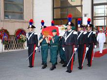 Il giorno dei funerali di Gino Birindelli