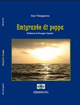 Copertina del libro Emigrante di poppa di Ezio Vinciguerra - www.lavocedelmarinaio.com