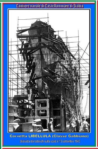13 settembre 1943 Corvetta Libellula - www.lavocedelmarinaio.com - Copia