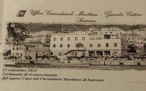 13.9.2013 Circondario di Capitanieria Sanremo - www.lavocedelmarinaio.com