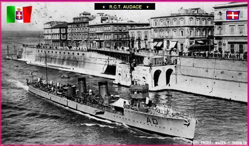 1.11.1944 Regio Cacciatorpediniere Audace - www.lavocedelmarinaio.com - Copia