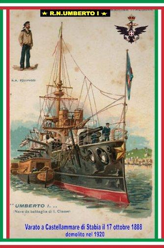 17.10.1888 varo regio nave Umberto I - www.lavocedelmarinaio.com