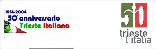 1954-2004 Trieste è italiana