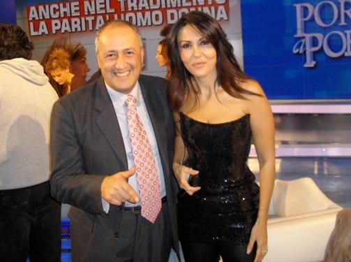 Ezio Pancrazio Vinciguerra e Sabrina Ferilli per www.lavocedelmarinaio.com