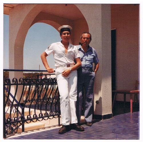 Francesco Lo Mastro, Io e papà 1978 - www.lavocedelmarinaio.com - Copia