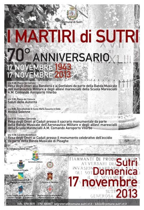 17.11.1943 i Martiri di Sutri www.lavocedelmarinaio.com