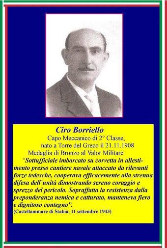 21.11.1908 , Ciro Borriello Capo Meccanico 2^classe - ww.lavocedelmarinaio.com - Copia