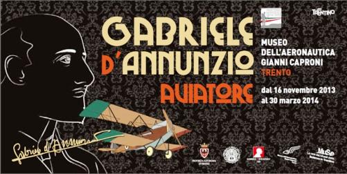 Mostra D'annunzio a Trento - www.lavocedelmarinaio.com