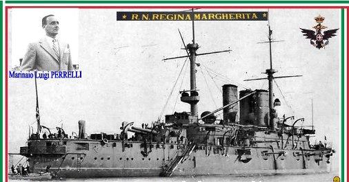 11.12.1916 - Regia Nave Regina Margherita - Marinaio Luigi Perelli - www.lavocedelmarinaio.com