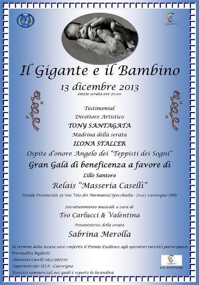 13.12.2013 Serata di beneficenza a favore di Lillo Santoro - www.lavocedelmarinaio.com