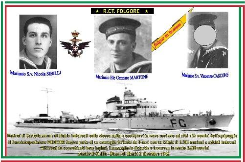 2 dicembre 1942 - Cacciatorpediniere Folgore - www.lavocedelmarinaio.com
