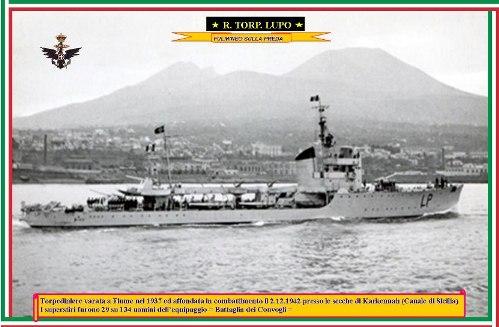 2.12.1942 Regia Torpediniere Lupo - www.lavocedelmarinaio.com