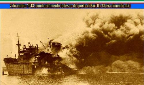 2.12.1943 bombardamento a Bari - www.lavocedelmarinaio.com