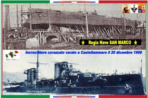 20.12.1908 varo regia nave San Marco - www.lavocedelmarinaio.com