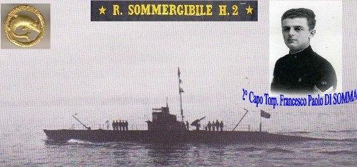 22.12.1928 - 2°C° Francesco Paolo di Somma - sommegibile H2 - www.lavocedelmarinaio.com -