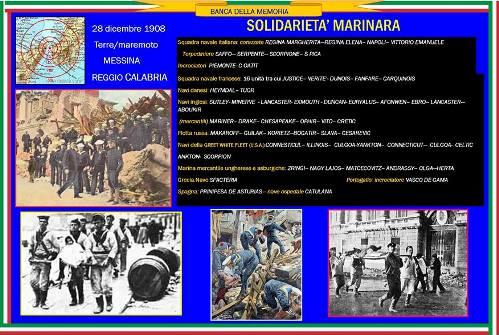 28.12.1908 il terremoto di Messina - www.lavocedelmarinaio.com