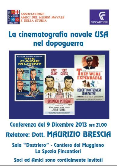9.12.2013 - cinematografia navale www.lavocedelmarinaio.com
