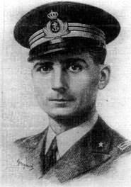 Capitano di fregata (M.O.V.M.) Francesco dell'Anno (foto ufficio storico M.M.)