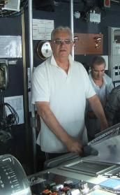 Franzo Osvaldo in una foto recente per www.lavocedelamrinaio.com