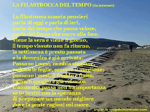 La filastrocca del tempo - www.lavocedelmarinaio.com
