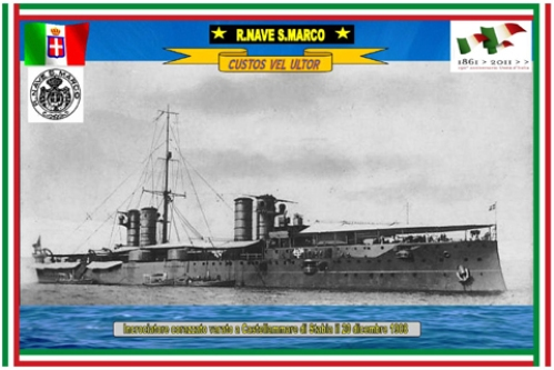 Regia nave SAN MARCO - www.lavocedelmarinaio.com